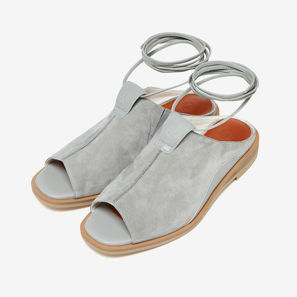 CLARA SANDALS (Light grey)