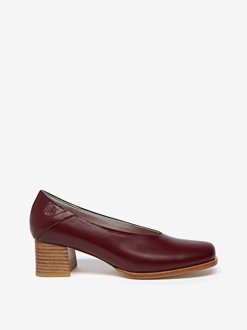 RUBBER HEELS (Burgundy)