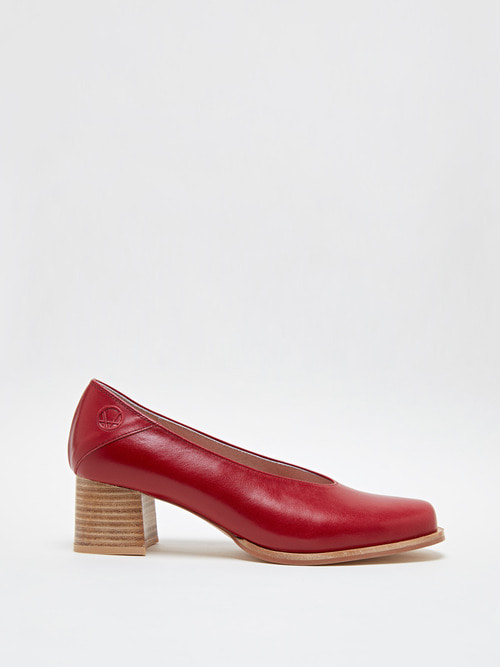RUBBER HEELS (Cherry burgundy)