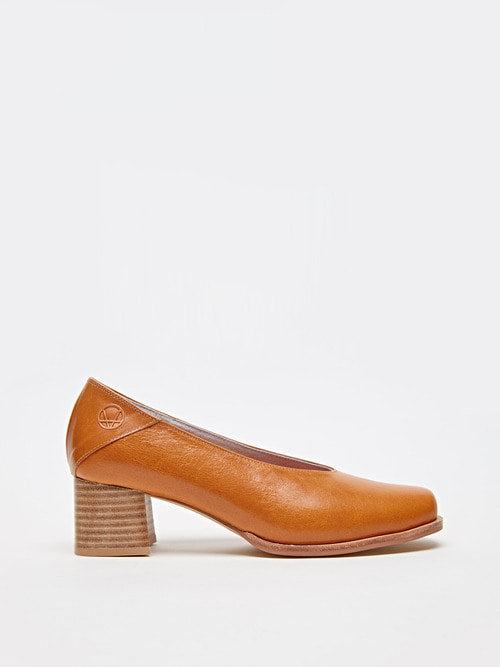 RUBBER HEELS (Mustard brown)