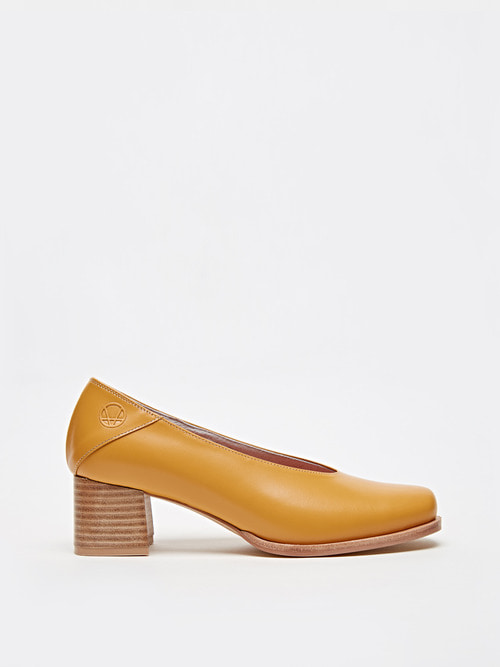 RUBBER HEELS (Pumpkin yellow)