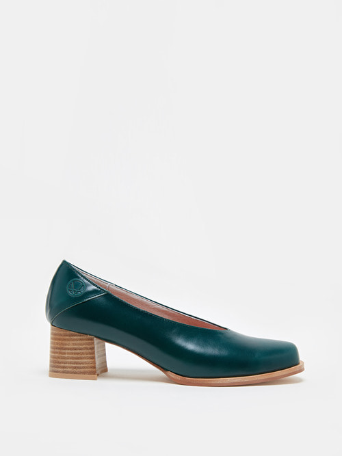 RUBBER HEELS (Dark green)