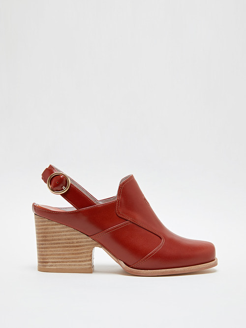 ANGELA HEELS (Orange brown)
