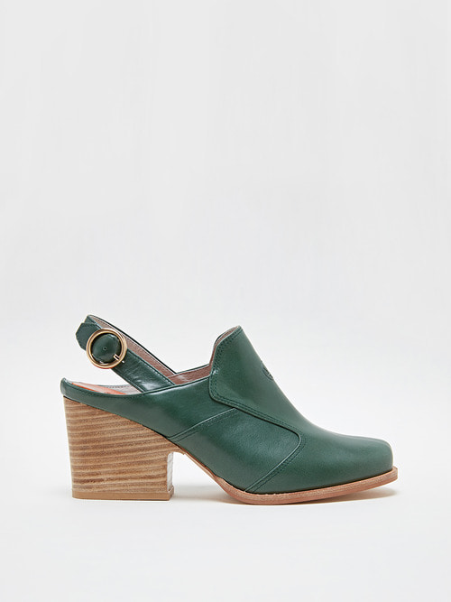 ANGELA HEELS (Misty green)