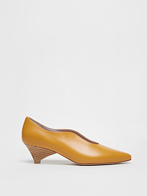 LAUREN HEELS (Pumpkin yellow)