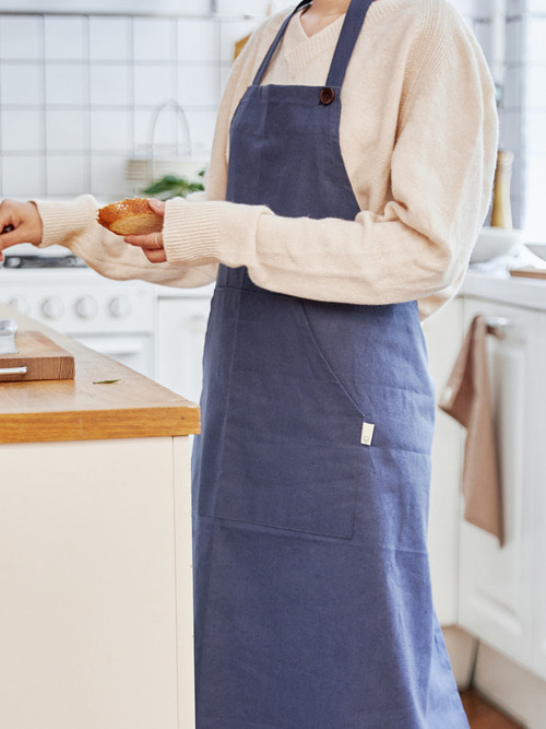 [예약 배송 9/17~ 순차출고]VERONICA x GABIE KOOK_ Apron (Sea salt)