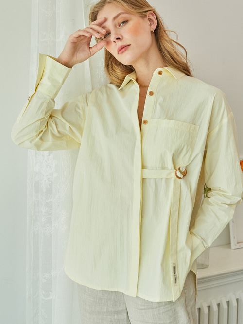 Reina SHIRTS - 2 WAY (SOFT YELLOW)