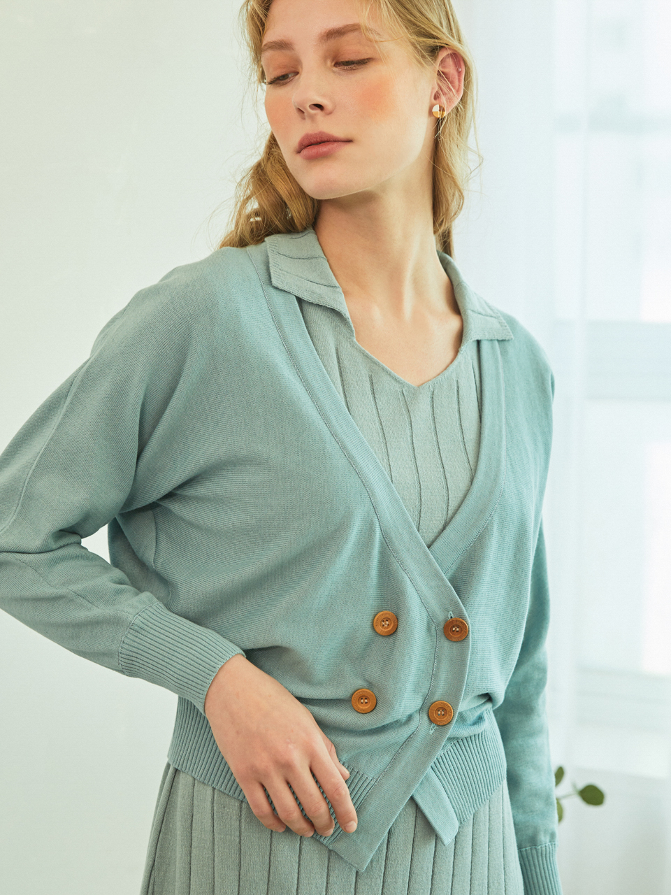 BREEZE CARDIGAN (MINT)