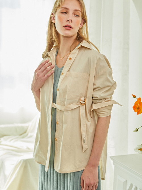 Reina SHIRTS - 2 WAY (BEIGE)