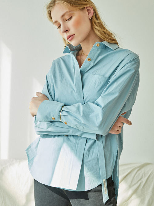 Reina SHIRTS - 2 WAY (SOFT BLUE)