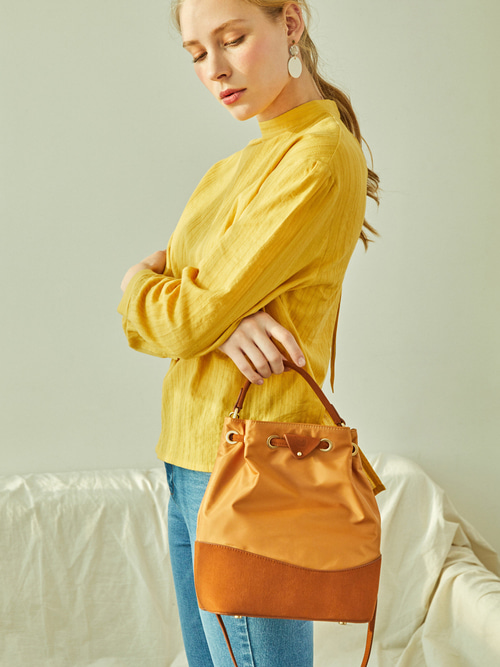 [예약배송] EVERY-DAY BUCKET BAG (Brown)