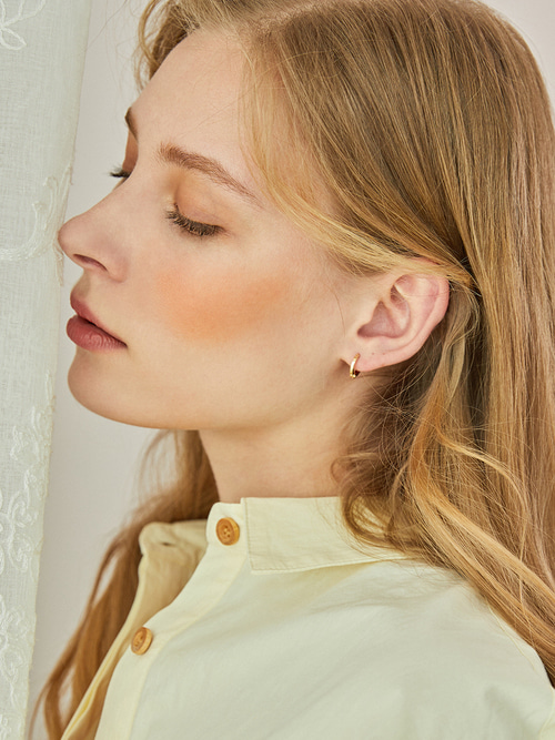 PETIT HOOPS EARRINGS (GOLD)